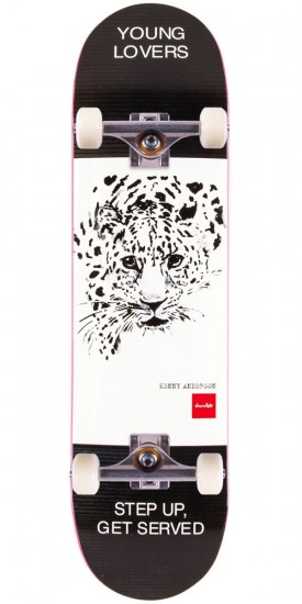 """Chocolate Anderson Solitary Animals Skateboard Complete - 8.125"""""""
