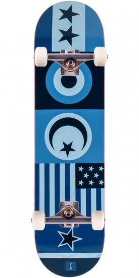 Chocolate Berle Flags Skateboard Complete - 8.125""