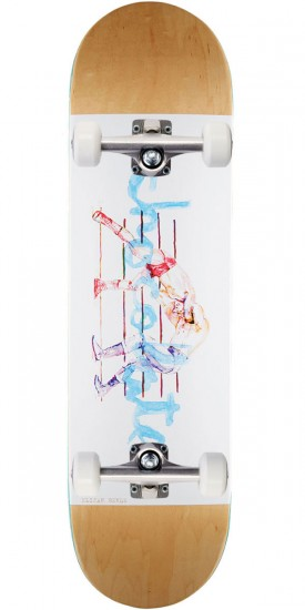 """Chocolate Berle Tradiciones Skateboard Complete- 8.375"""" - Natural Stain"""