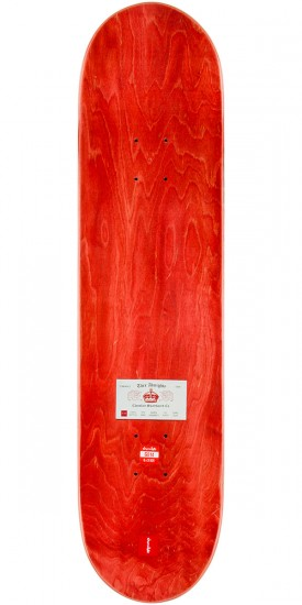"""Chocolate Brenes Calling Card Skateboard Complete - 8.0"""" - Red Stain"""