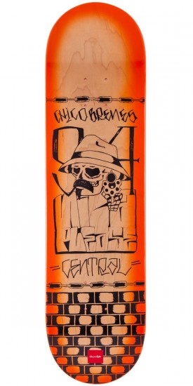 Chocolate Chico Brenes Lupitas Skateboard Deck - 8.0""