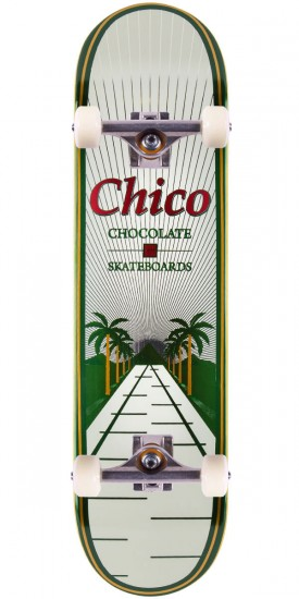 Chocolate Chico Brenes One Off Skateboard Complete - 8.0""