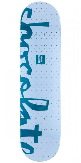 "Chocolate Chris Roberts Floater Skateboard Deck - 7.75"" - Teal Stain"
