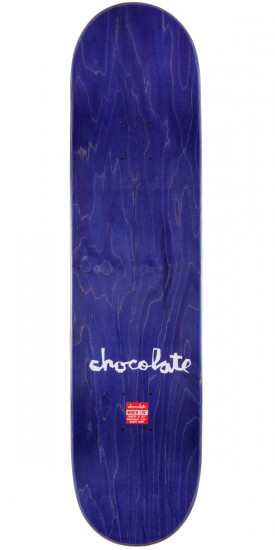 """Chocolate Chris Roberts Floater Skateboard Complete - 7.75"""" - Purple Stain"""