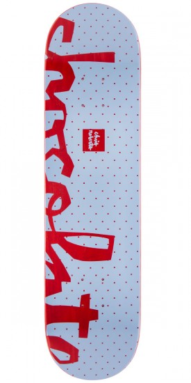 "Chocolate Chris Roberts Floater Skateboard Deck - 7.75"" - Red Stain"