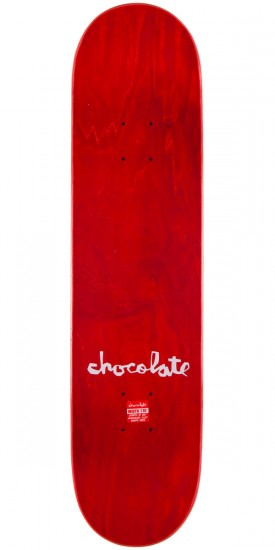 "Chocolate Chris Roberts Floater Skateboard Complete - 7.75"" - Red Stain"