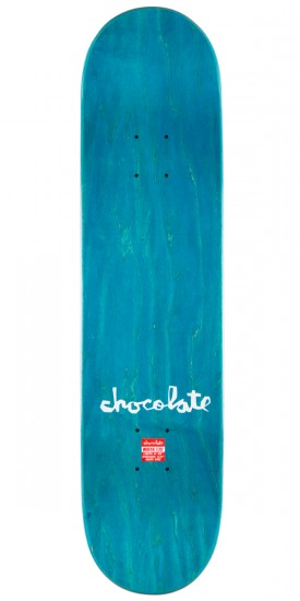"""Chocolate Chris Roberts Floater Skateboard Complete - 7.75"""" - Teal Stain"""
