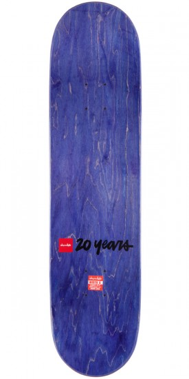 Chocolate Chris Roberts Heritage Skateboard Complete - 8.00""