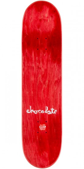 Chocolate Alvarez Flags Skateboard Deck - 8.0""