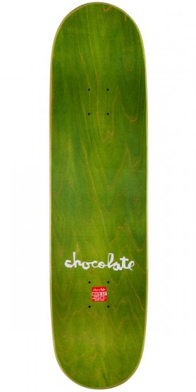 "Chocolate Elijah Berle Floater Skateboard Complete - 8.5"" - Green Stain"