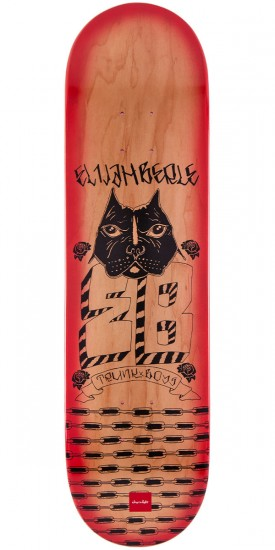 Chocolate Elijah Berle Lupitas Skateboard Deck - 8.125""