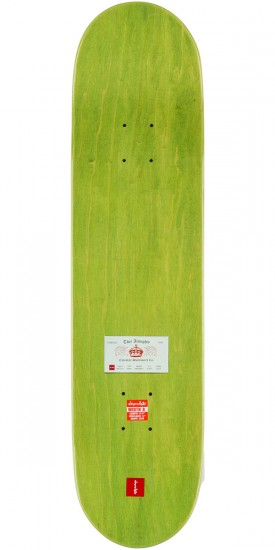 "Chocolate Hsu Calling Card Skateboard Complete - 8.0"" - Green Stain"