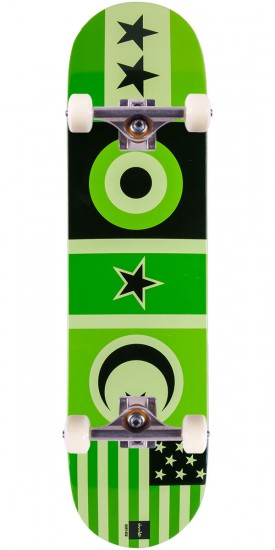 Chocolate Hsu Flags Skateboard Complete - 8.0""