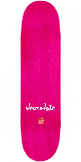 Chocolate Hsu Tavalera Skateboard Deck - 8.0""