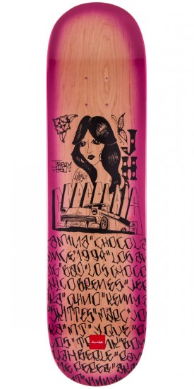 Chocolate Jerry Hsu Lupitas Skateboard Deck - 8.0""