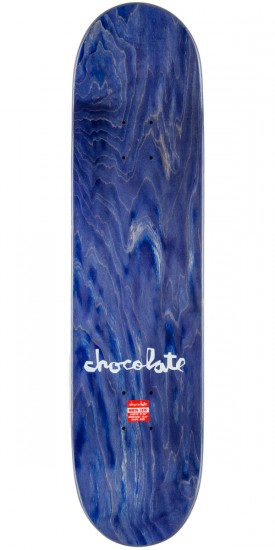Chocolate Justin Eldridge One Off Skateboard Complete - 7.875""