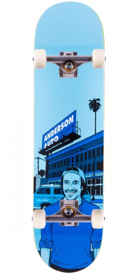 """Chocolate Kenny Anderson City Series Skateboard Complete - 8.125"""""""