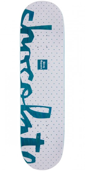 "Chocolate Kenny Anderson Floater Skateboard Deck - 8.125"" - Teal Stain"