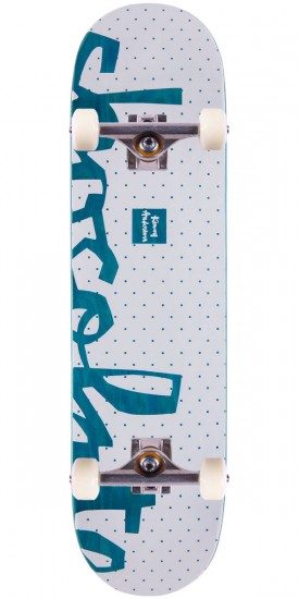 """Chocolate Kenny Anderson Floater Skateboard Complete - 8.125"""" - Teal Stain"""