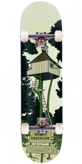 """Chocolate Kenny Anderson Tree House Skateboard Complete - 8.125"""""""