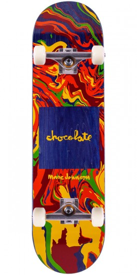 Chocolate M. Johnson Sumi Chunk Skateboard Complete - 8.125""