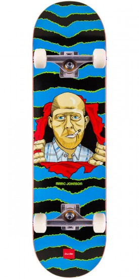 """Chocolate Marc Johnson One Off Skateboard Complete - 8.125"""""""