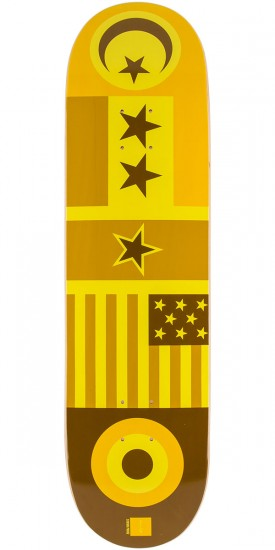 Chocolate Perez Flags Skateboard Deck - 8.25""