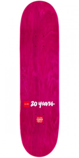 Chocolate Raven Tershy Bomber Skateboard Complete - 8.375""