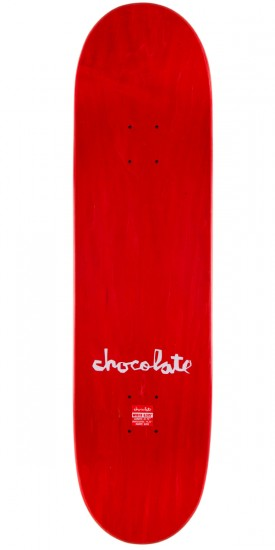 Chocolate Raven Tershy Matte Sketch Skateboard Deck - 8.375""