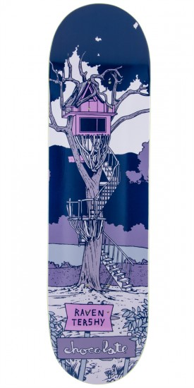 Chocolate Raven Tershy Tree House Skateboard Deck - 8.375""