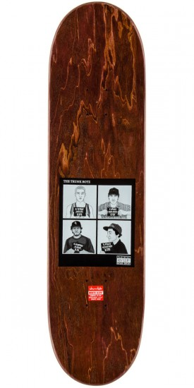 Chocolate Raven Tershy Trunk Boyz Skateboard Deck - 8.375""