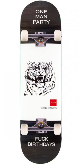 """Chocolate Roberts Solitary Animals Skateboard Complete - 8.00"""""""