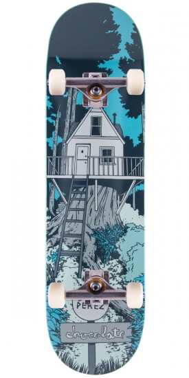 Chocolate Stevie Perez Tree House Skateboard Complete - 8.25""