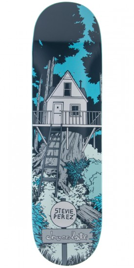 Chocolate Stevie Perez Tree House Skateboard Deck - 8.25""