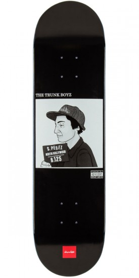 Chocolate Stevie Perez Trunk Boyz Skateboard Deck - 8.125""