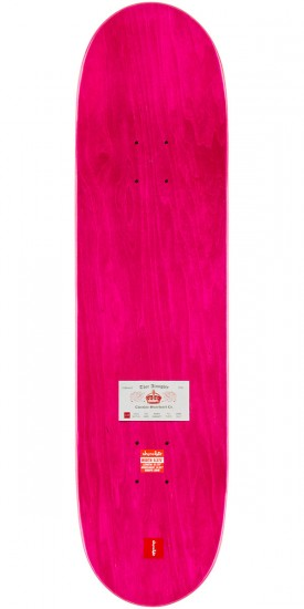 """Chocolate Tershy Calling Card Skateboard Complete - 8.375"""" - Pink Stain"""