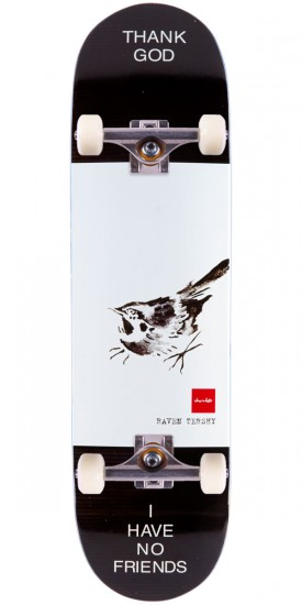 Chocolate Tershy Solitary Animals Skateboard Complete - 8.50""