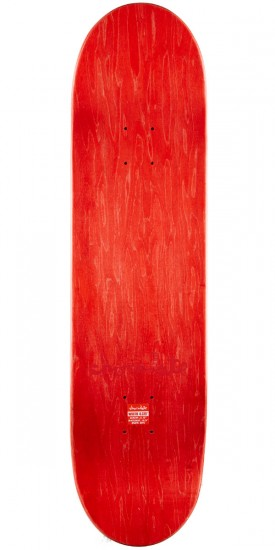 """Chocolate Tershy Tradiciones Skateboard Complete - 8.375"""" - Red Stain"""