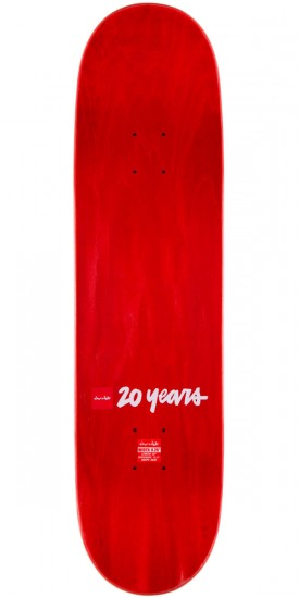 Chocolate Vincent Alvarez Bomber Skateboard Deck - 8.25""