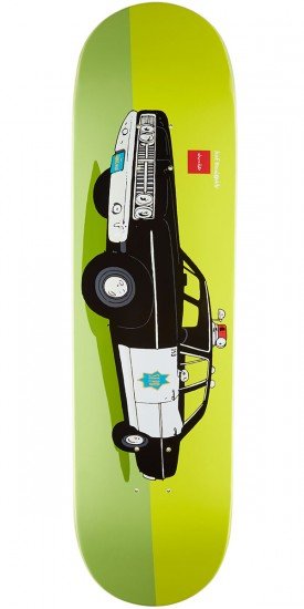 Chocolate x HUF Cop Car SF Skateboard Deck - 8.5""