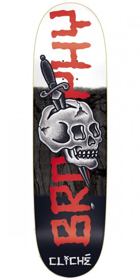 Cliche Brophy by Dressen R7 Skateboard Deck - Brophy/Multi - 8.625""