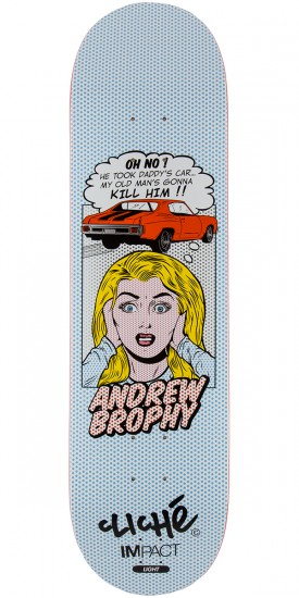 Cliche Brophy POP Babes Impact Light Skateboard Deck - 8.25""
