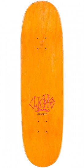 Cliche Brophy Walrus by Cliver R7 Skateboard Deck - Purple Stain - 8.625""