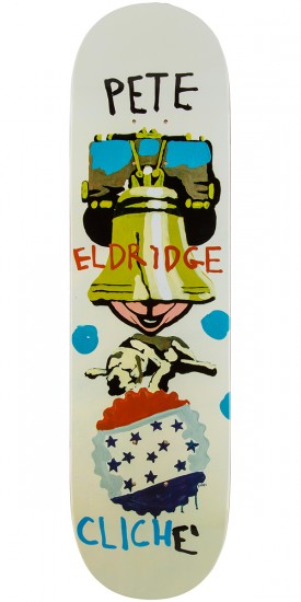 Cliche Eldridge Brabs Paint Skateboard Deck - 8.25""