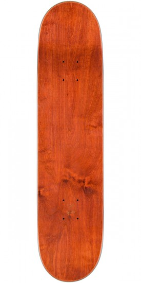 Cliche Handwritten Classic Skateboard Complete - Red/Yellow - 7.75""
