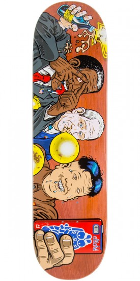 "Cliche Jenkem R7 Skateboard Deck - 8.375"" - Brown Stain"