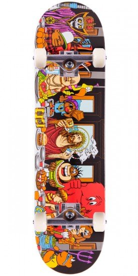 Cliche Last Supper Skateboard Complete - 8.00""