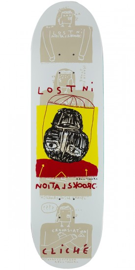 """Cliche Lost In Crookslation - Directional Skateboard Deck - 8.625"""""""