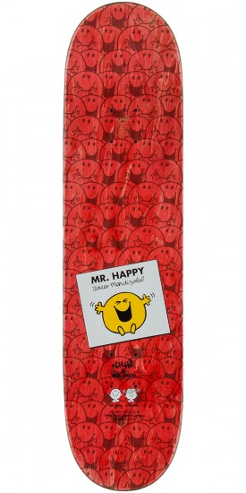 Cliche Mendizabal Mr. Men Skateboard Deck - 8.125""