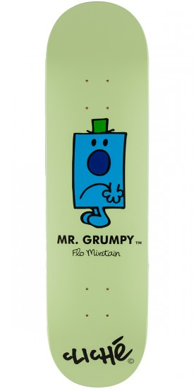 Cliche Mirtain Mr. Men Skateboard Deck - 8.25""